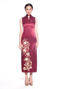 Anais Long Qipao - Modern fashion cheongsam by Sissae