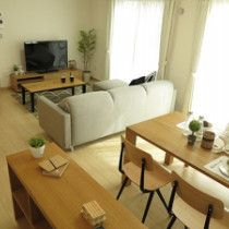 ナラ・タモ無垢材を使用した家具でナチュラルコーディネート事例をご紹介!   家具なび ~きっと家具から始まる家づくり~