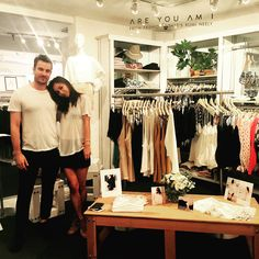 Thank you to Rumi Neely for stopping by #RonHerman Melrose for the Are You Am I Launch at Ron Herman.