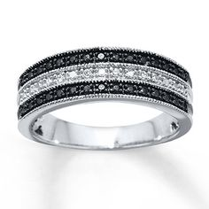 Black Diamond Ring Sterling Silver  This is the ring I think I'm going to replace my wedding ring with.  Your thoughts?