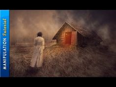 Photoshop Manipulation Tutorial: Old House - Pinned for how to replace sky with channels