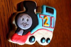 Train Cookie Favors Thomas and Friends by WhimsicalOriginalsDB