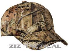 Mossy Oak Infinity Camouflage Adjustable Velcro Camo Hat Baseball Cap #MossyOak #Hunting