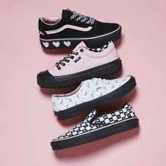 All sorts of delights with the new Vans x Lazy Oaf collaboration Coming to site soon
