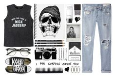 """† Cause I may be bad, but I'm perfectly good at it †"" by unorthodoxjukebox ❤ liked on Polyvore featuring Chanel, Henri Bendel, Clips, GHD, BOBBY, rag & bone/JEAN, Friend of Mine, Nikon and Converse"
