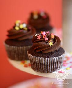 Cupcake de Chocolate!