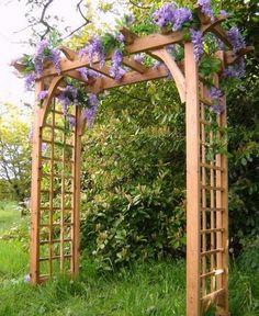 Pinterest ein katalog unendlich vieler ideen for Gartengestaltung rosenbogen