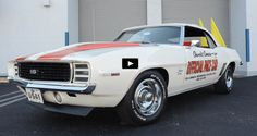 Stunning Convertible 1969 Camaro RS SS Pace Car