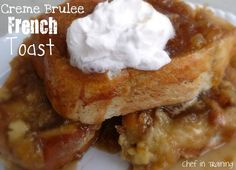 Overnight Creme Brulee French Toast!  So easy to make and prepare and tastes absolutely AMAZING!
