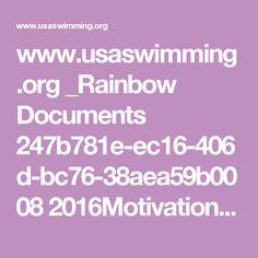www.usaswimming.org _Rainbow Documents 247b781e-ec16-406d-bc76-38aea59b0008 2016MotivationalTimes-Top16.pdf
