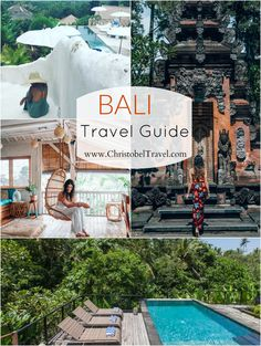 Here is a Bali Travel Guide with tips on beautiful places to see and things to do in Bali such as Pura Tilta Empul, Mount Batur, Rice fields, Natural Hot Springs and Beaches. Bali Travel has become trendy as people seek to experience the culture in Bali, Bali Travel Guide, Asia Travel, Travel Guides, Travel Tips, Travel Hacks, Voyage Bali, Destination Voyage, Cool Places To Visit, Places To Travel