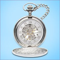 Groomsmen Gift Idea: Engraved Pocket Watches.