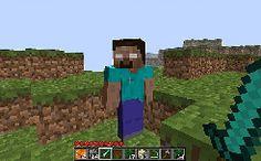 Herobrine, O mito Mais conhecido do Minecraft