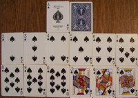 Card games to play with standard deck of playing cards