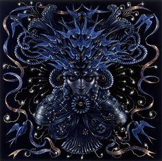 Neptune: The Mystic ....Artist: Thomas Woodruff.... http://thomaswoodruff.com/the-solar-system/