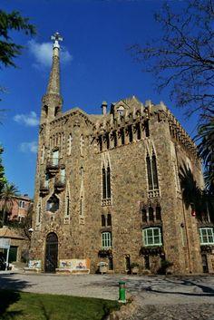 Torre Bellesguard/ Casa Figueres. Antoni Gaudí .1900 -1909. Barcelona, Catalonia.