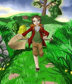 I'm going on an adventure! by Rina-from-Shire on deviantART