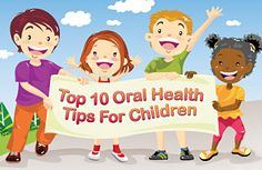 Oral health is important for kids too.