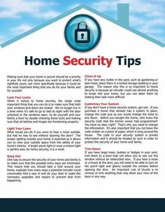 Home Security Tips For Blustery Conditions #homesecuritysystemhouses