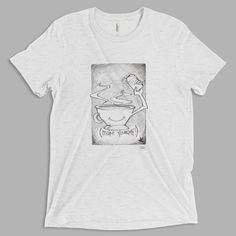 Brandon Boyd of Incubus drew this sketch as a t-shirt idea during the