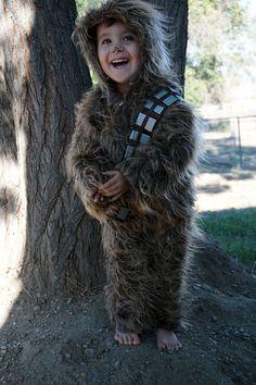 Baby & Toddler Chewbacca Costume Chewie Wookiee by rabbitxrabbit
