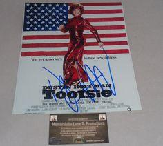 Dustin Hoffman TOOTSIE autographed 8x10 COA Memorabilia Lane & Promotions