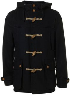"Toggle coat from Topman - ""My favorite coat and the one I receive the most compliments in.  Best for when I'm trying to get my Dead Poet's Society swag on."""