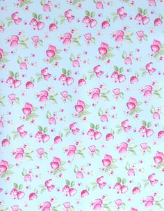 z. SAMPLE Oilcloth Fabric Strawberry Duckegg Oilcloth, Fabric Samples, Different Fabrics, Strawberry, Colour, Inspiration, Ideas, Fabric Swatches, Color