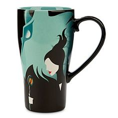 Disney Maleficent and Dragon Mug | Disney StoreMaleficent and Dragon Mug - This elegant latte style mug, illustrated with bold interpretive art, is inspired by Disney's live-action film, Maleficent.