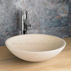 Elegant Galala Limestone Portici Counter Top Basin