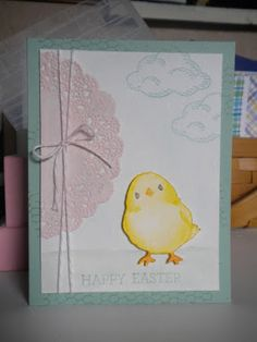 My Creative Side: Easter Chick