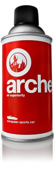 Archer Air Superiority manly air fresheners: european sports car, distillery, hunting lodge, etc