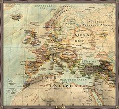 Europe in 1000 by JaySimons on DeviantArt