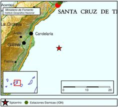 El Eco de Canarias: Dos terremotos Este Tenerife, 8 marzo
