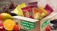 Tester neuen Frucht Pur 100% Riegel