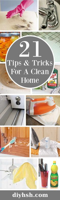 DIY Home Sweet Home: 21 Spring Cleaning Tips & Tricks