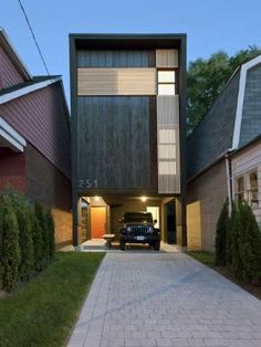 Shaft House by Atelier rzlbd Makes the Most of a Small-Scaled Space trendhunter.com