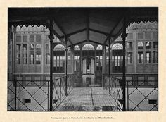 Passagem para o Refeitório do Asilo de Mendicidade (1902), em Belém do Pará