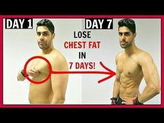 How To Lose Chest Fat At HOME Fast - WORKOUT & DIET PLAN - YouTube