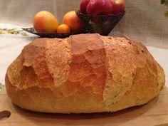 kenyér, kenyér recept, házi kenyér, Kocsis Hajnalka receptje, www.mokuslekvar.hu Diy Food, Bread, Recipes, Brot, Baking, Breads, Ripped Recipes, Buns