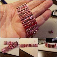 Lovely Loom Work Bracelet