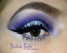 All MAC products Mac Products, Beatnik, Cut Crease, Beauty Hacks, Hair Makeup, Peach, Make Up, Purple, Beauty Tricks