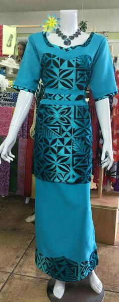 I would lijke to save this plse Island Wear, Island Outfit, New Dress Pattern, Dress Patterns, Samoan Designs, Samoan Dress, Special Dresses, African Wear, Jaba