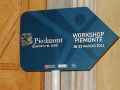 workshop with regione piemonte