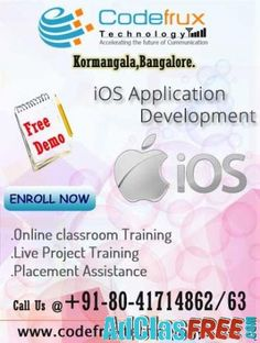 Online iOS training at CodeFrux Technologies