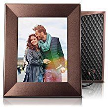Nixplay Iris 8 Inch WiFi Digital Picture Frame Bronze - Share Moments Instantly via App or E-Mail Iris, Bronze, App, In This Moment, Digital, Wi Fi, Frame, Cloud, Pictures