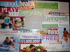 Life vision board