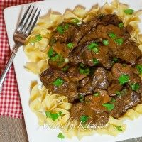 Recipe Submitted By:  Art & the Kitchen Click on the link below for the Slow Cooker Beef Stroganoff Recipe!   Slow Cooker Beef Stroganoff