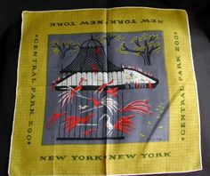 Beautiful Vintage Tammis Keefe New York Central Park Zoo Birdcage Birds Signed | eBay