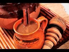 How to Make Champurrado (Chocolate Atole) Authentic Mexican Recipes, Best Mexican Recipes, Real Mexican Food, Mexican Drinks, Mexican Dessert Recipes, Mexican Dishes, How To Make Champurrado, Cocina Natural, Homemade Caramel Sauce